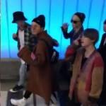 AMA側、「防弾少年団」の入国映像を公開=男性ファンも「BTS!」