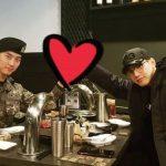 2PMテギョン、入隊後初めての外泊… Jun. Kとの温かい再会
