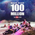 「BIGBANG」の「BAEBAE」MV、再生回数1億回を突破