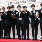 <2017AAA>「Wanna One」、サムスンペイ賞を受賞