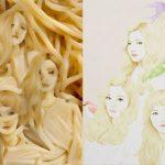 <トレンドブログ>「Red Velvet」をパスタ麺で再現!?とっても器用なファンの作品が話題!