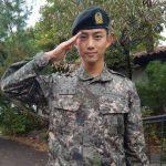 「公式的立場」オク・テギョン(2PM)、新兵教育隊助教として白馬部隊に自隊配置