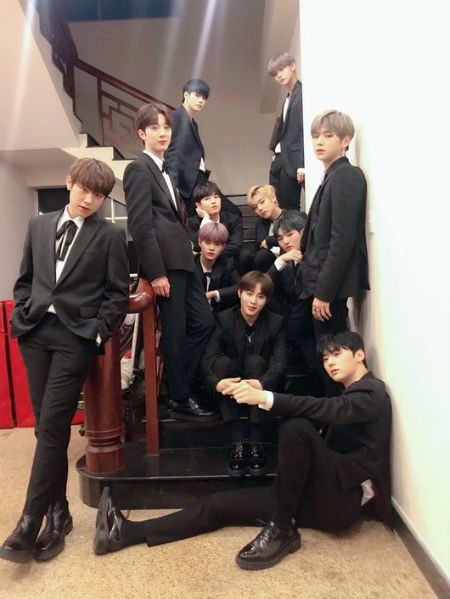 「Wanna One」、「MAMA」でBest of Next賞を受賞