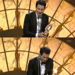 EXOディオ(ド・ギョンス)、「青龍映画賞男子新人賞」受賞…俳優チョ・インソンが代理で受賞