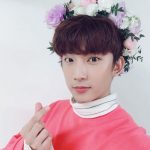 B1A4ゴンチャン、花の冠をかぶった花の王子様