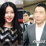 """女優キム・ジョンミン、きょう(15日)恐喝・脅迫容疑""""元恋人""""の公判に出廷"""