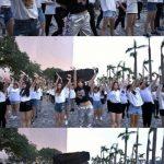 MINZY、香港ファンとフラッシュモブイベントを開催…約150人で「ニナノ」を披露