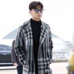 俳優パク・ソジュン、彼氏ルックで空港ファッションを完成