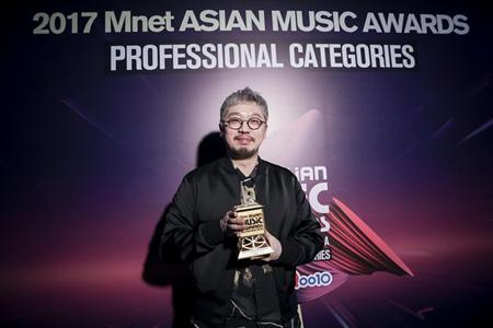 「防弾少年団」ブームの立役者Pdogg、「MAMA」でベストプロデューサー賞受賞