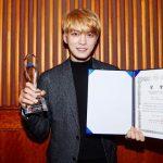 JYJジェジュン、「2017大韓民国韓流大賞」で歌手部門の「大衆文化大賞」受賞