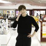 俳優イ・ジョンソク、ロッテ免税店銀座店をサプライズ訪問