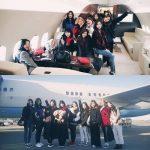 「TWICE」、チャーター機での記念写真公開! 紅白リハから韓国の音楽祭に向け大忙し