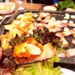 <トレンドブログ>【韓国グルメ】 東大門で24時間オープン!キムチチゲとサムギョプサルのキムサムボ!