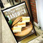 <トレンドブログ>【韓国グルメ】カロスキルで日本風厚焼き玉子のタマゴサンド!マービンスタンドで美味しそうなサンドイッチ