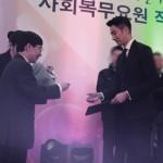 俳優チョン・イル、誠実な軍生活が認められ「優秀軍服務要員長官賞」を受賞