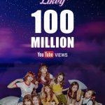"""TWICE、K-POPガールズグループ史上初!「Likey」MV再生回数が1億回を突破""""止まらない人気を証明"""""""