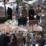 カン・ドンウォン−ヨ・ジングら映画「1987」出演者、パク・ジョンチョル烈士の墓を訪問