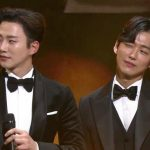 俳優ナムグン・ミン&2PMジュノ、和やかな受賞の瞬間を公開