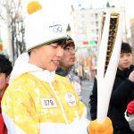 「PHOTO@水原」俳優リュ・ジュンヨル、平昌(ピョンチャン)オリンピックの聖火リレーに参加