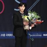 <ことしの映画賞>俳優パク・ソジュン、新人男優賞を受賞