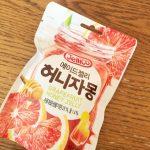 <トレンドブログ>【韓国スイーツ】 ハニーグレープフルーツグミ!お土産でもらったよー