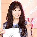 「PHOTO@ソウル」少女時代テヨン、化粧品ブランドのファンサイン会に出席…溢れるような微笑