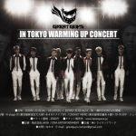 """奇跡の歴代級""""長身ドル""""【Great Guys】日本初来日決定! 【Great Guys】In Tokyo Warming up Concert"""