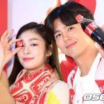 「PHOTO@ソウル」パク・ボゴム&キム・ヨナ、「コカ・コーラジャイアント自動販売機」オープニングイベントに出席