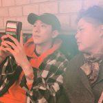 """CNBLUEジョンシン、母親と共に週末の外出…""""幸せでいよう"""""""