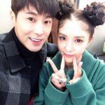ユンホ(東方神起)、BoAの番組出演を応援するため訪問