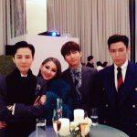 """""""兵役中""""T.O.P(BIGBANG)、SOL&ミン・ヒョリンの結婚式に出席…公開された写真が話題"""