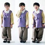 俳優ソン・イルグクの三つ子の息子、可愛らしい韓服姿を公開!