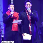 「PHOTO@江陵(カンヌン)」テギョン(2PM)、グァンヒ 平昌冬季オリンピック祭典、K-POPコンサートの司会に登場