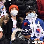 俳優イ・ビョンホン&イ・ミンジョン夫婦、平昌(ピョンチャン)オリンピックでショートトラックを応援