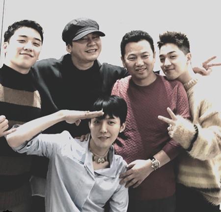 「BIGBANG」V.I、27日入隊のG-DRAGONにSNSであいさつ