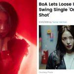 <トレンドブログ>歌手BoAの新譜「ONE SHOT, TWO SHOT」にアメリカビルボードも大注目!