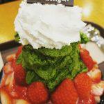 <トレンドブログ>【韓国スイーツ】冬でも美味しいソルビン~!イチゴツリーカキ氷