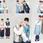 RAINZ、7人7様の韓服姿で新年のあいさつ「成長していく7人を見守って」