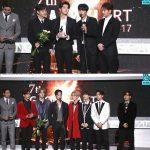 """「GAONチャートアワード」NU'EST W&GOT7、「ホットパフォーマンス賞」受賞…""""ファンのおかげ"""""""