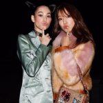 パク・シネ×水原希子、日韓美女たちのショットが話題…ファッションイベントで交流