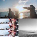 """俳優パク・ソジュン&防弾少年団V、友情旅行 """"お互いに写真を撮る仲"""""""