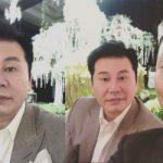 YGヤン・ヒョンソク代表、SOL(BIGBANG)の結婚を祝福「美しかった披露宴」