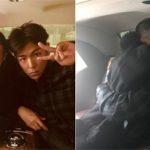 "「BIGBANG」T.O.P、G-DRAGONの入隊を見送る…""熱い抱擁""も"