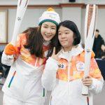 女優チェ・ジウ、平昌パラ聖火リレーに参加「選手の皆さん、ファイト! 」