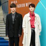 「PHOTO@ソウル」PENTAGON ホンソク・ヨウォン、Block B ジェヒョら、「ヘラソウルファッションウィーク」に出席
