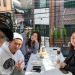 T-ARAウンジョン、休暇中の軍人テギョン(2PM)とコーヒータイム