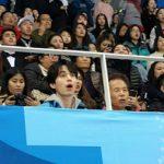 俳優イ・ドンウク、日本応援団と一緒に平昌パラリンピックを応援