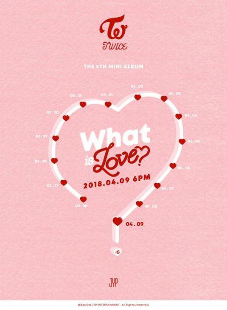 【公式】「TWICE」、4月9日「What is Love? 」でカムバック