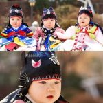 俳優ソン・イルグク、三つ子の誕生日に満1歳のときの写真を公開