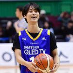 VIXXエン、韓国プロバスケットボールの始球式を行う